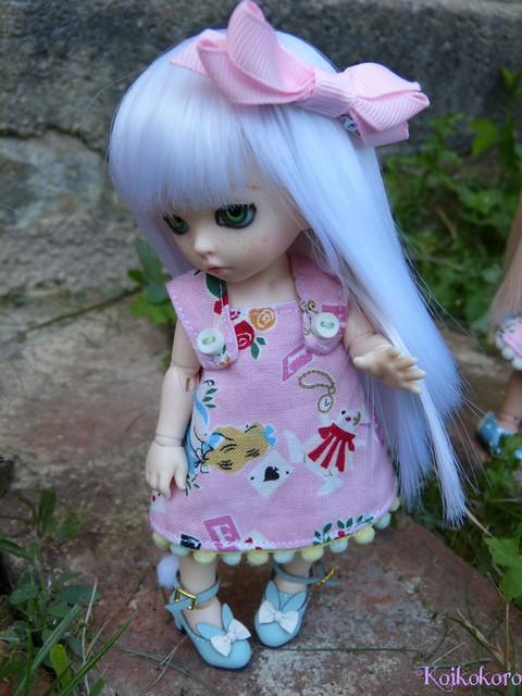 Couture et tricotages : monstre, flamant rose et alpaga 17243725330_caf609f839_z