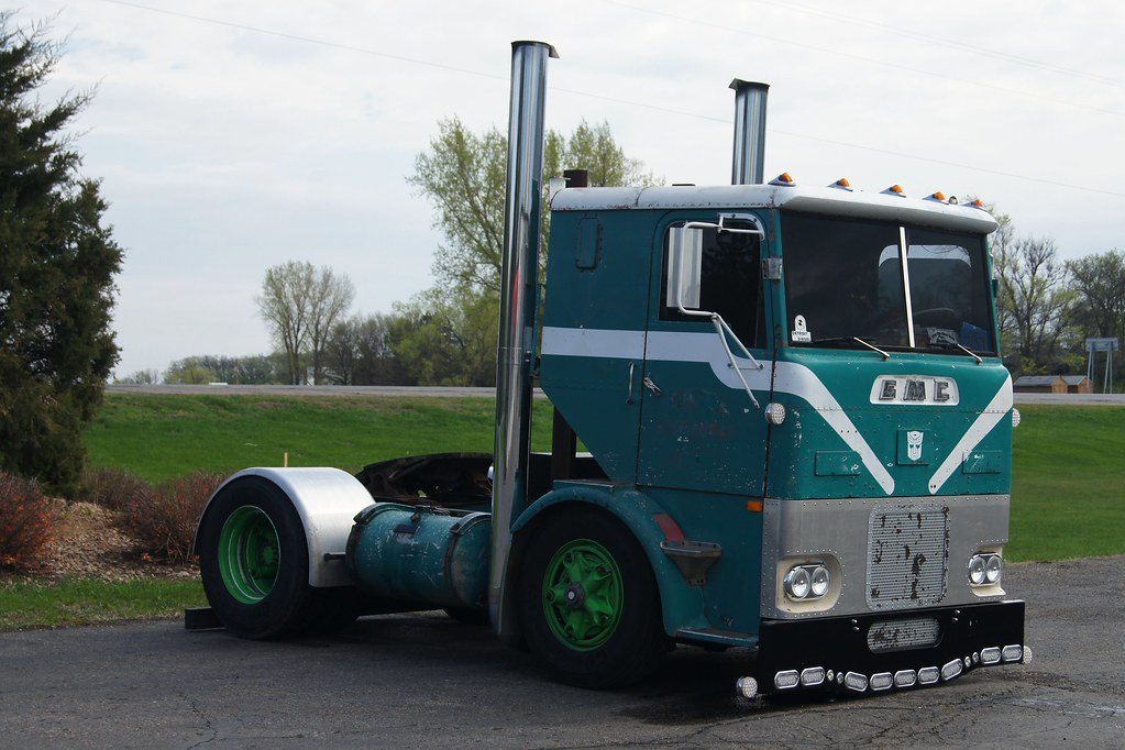 1959 Gmc Cabover Semi Tractor River City Street Rods