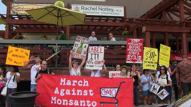 March Against Monsanto 2015 - Edmonton