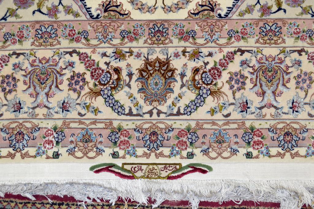 Shirfar Tabriz Persian Rug 7x10 - 70 raj (8)