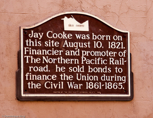 Jay Cooke birthplace, Sandusky, Ohio