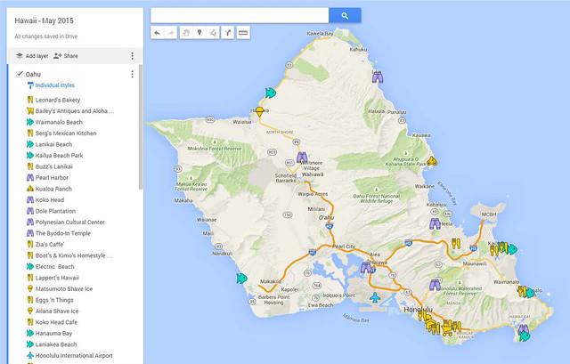 GoogleMap_Oahu