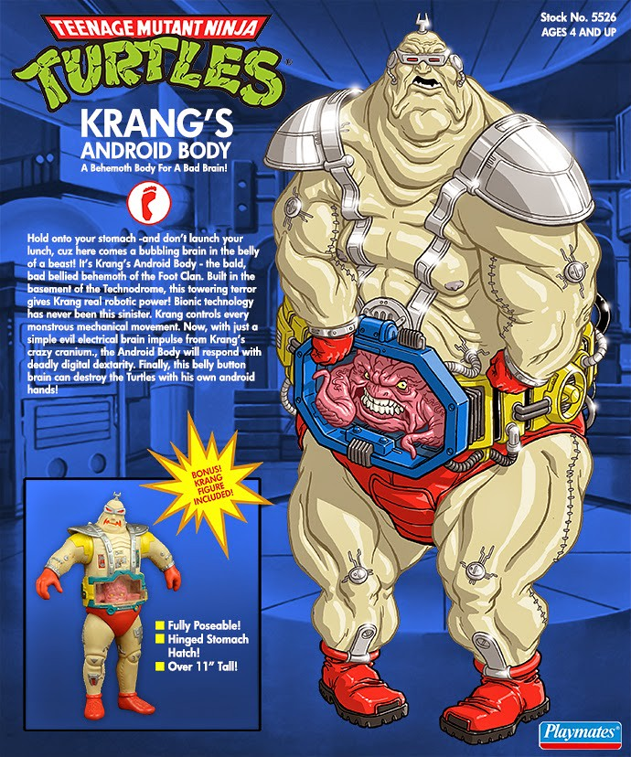 Minion Factory Teenage Mutant Ninja Turtles Krang's Android Body