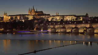 evening on the Vltava | by cherryspicks (off)