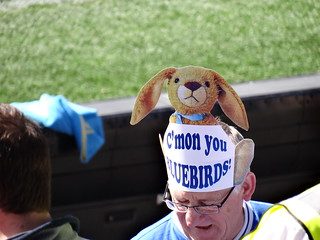 Cardiff City Easter Bunny Hat | by joncandy