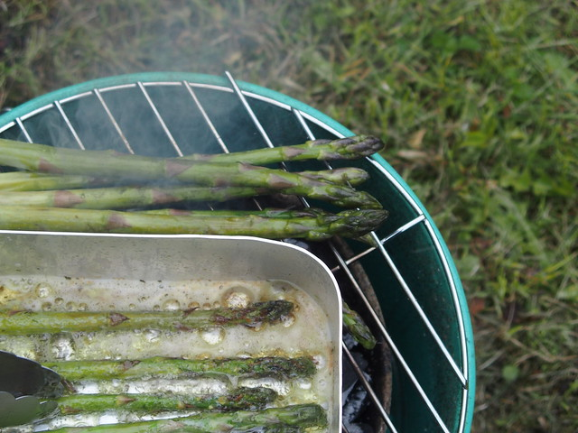 Battle of the asparagus 2