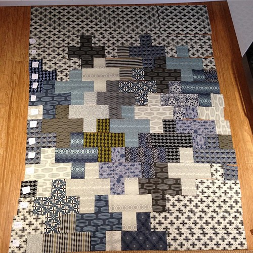 Parson Gray Modern Plus Quilt