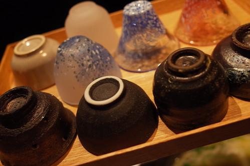 美神鶏 Bijindori 12 sake cups