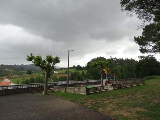 Parque en el Ruta dos Ríos de Cambre