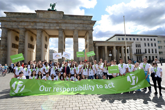 The J7 Youth Summit takes place in Berlin, Germany, 6-14 May.