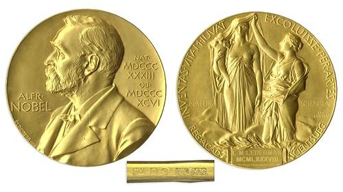 Leon Lederman 1988 Nobel Prize gold medal