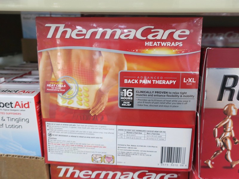 heat wrap, Php 1500