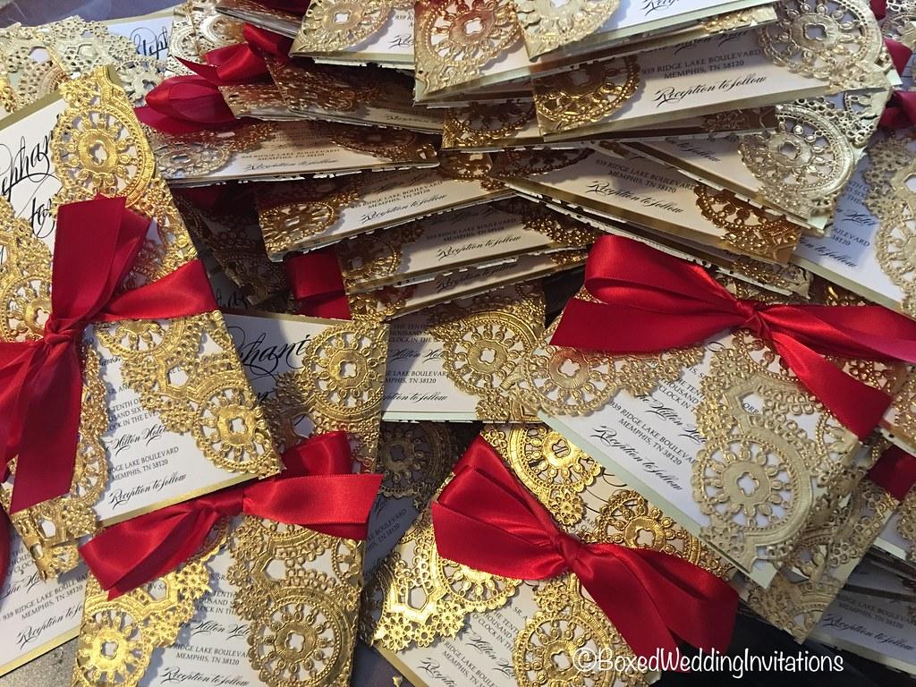 Our elegant wedding invitations www.boxedweddinginvitation… | Flickr