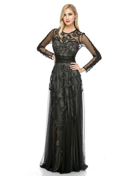 rochie lungă Marchesa Voyage