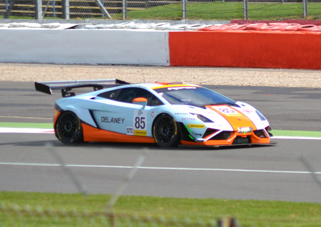 High Quality ... Gulf Racing UK GTC Lamborghini Gallardo LP560 GT3 No.85 | By Phantomwk