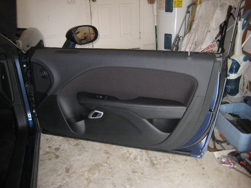 ... 2008-2015 Dodge Challenger Plastic Interior Door Panel - Take Off To Upgrade OEM Speaker & 2008-2015 Dodge Challenger Plastic Interior Door Panel - T\u2026 | Flickr
