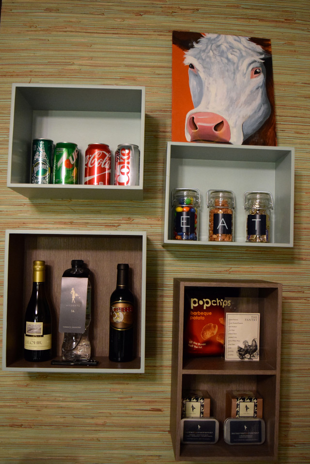 Mini Bar at Farmers Daughter Hotel, West Hollywood