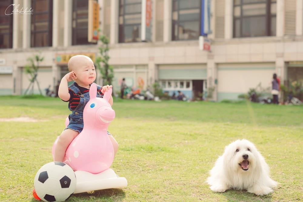 推薦自然可愛寵物與寶寶寫真攝影師