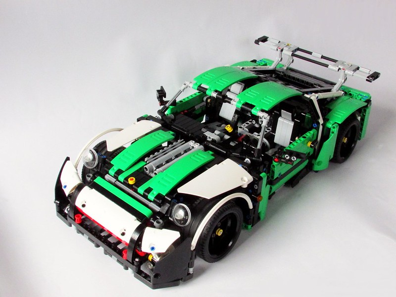 porsche porsche 911 panamera rsr lego technic. Black Bedroom Furniture Sets. Home Design Ideas