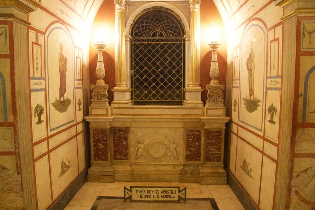 Tomb Of Saint Philip And Saint James The Less St James