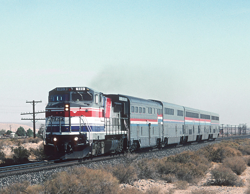 4 Of Amtraks Desert Wind Amtrak Ran The Desert Wind