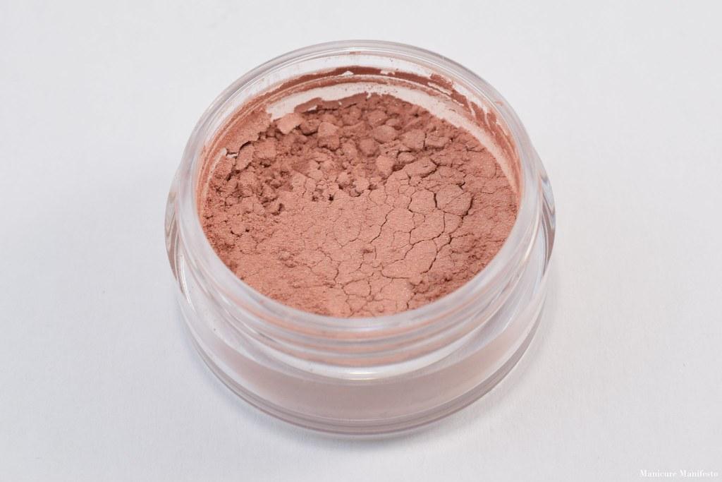 Hello waffle cosmetics blush swatch