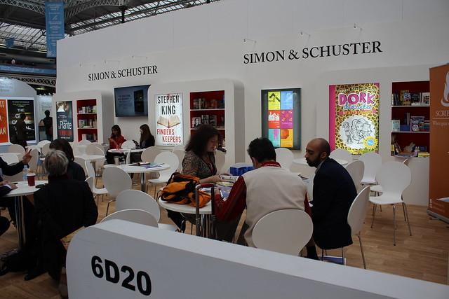 Simon & Schuster - London Book Fair 2015