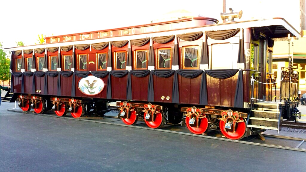 Lincoln Funeral Train Car Laura Flickr