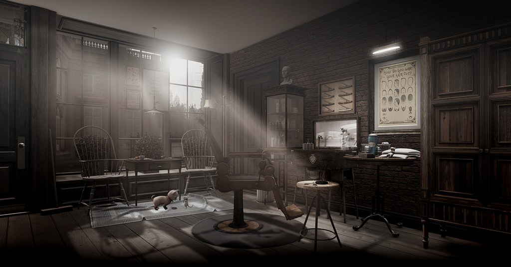 Studioworx Old London The Barber Shop Items On