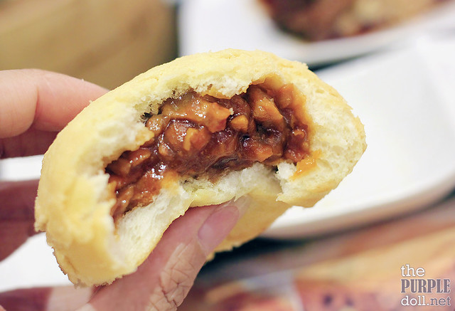 Baked Bun with BBQ Pork from Tim Ho Wan