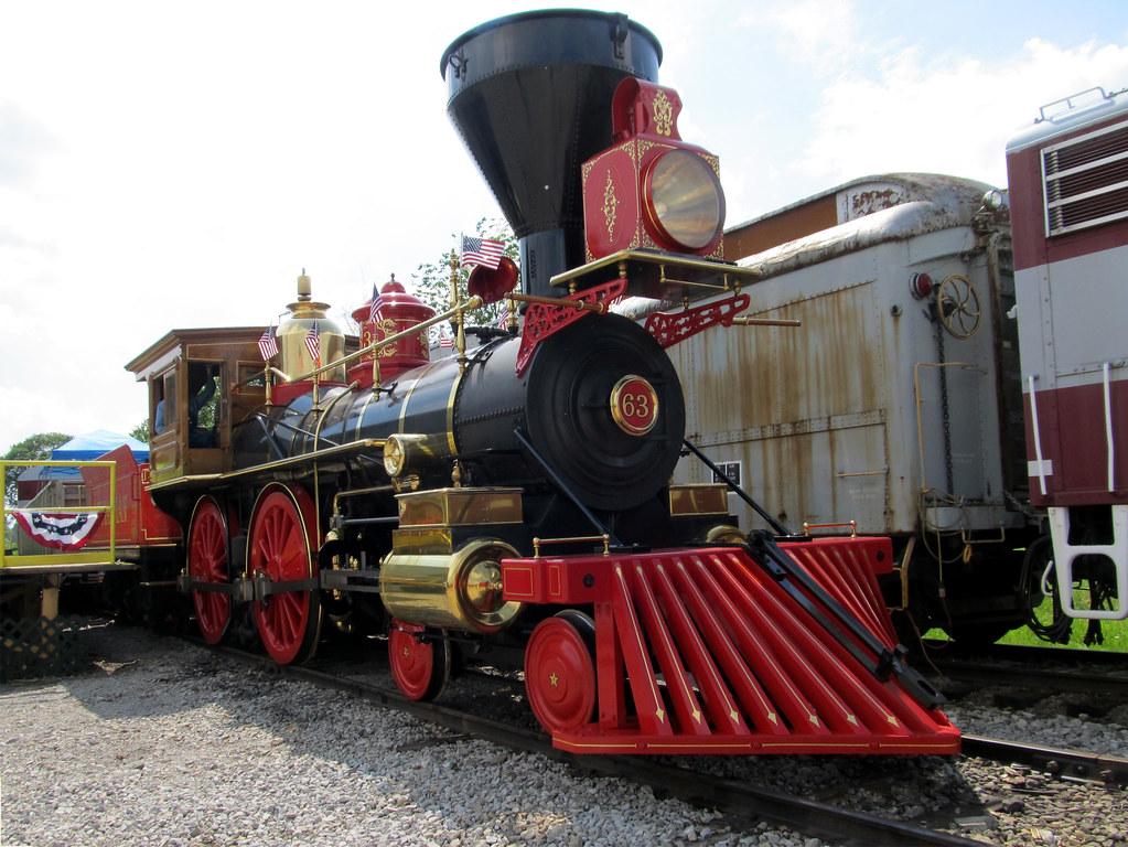 Abraham Lincoln Funeral Train Replica Wellington Ohio M Flickr