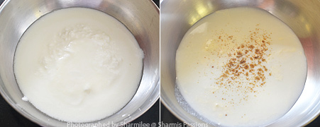 How to make sweet lassi - Step1