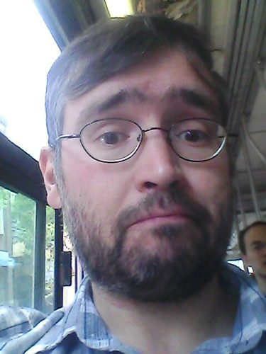 Streetcar selfie