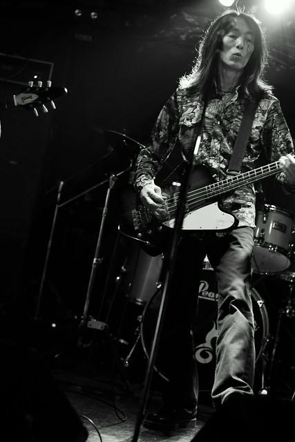 Wishbone Mash live at Outbreak, Tokyo, 23 May 2015. 099