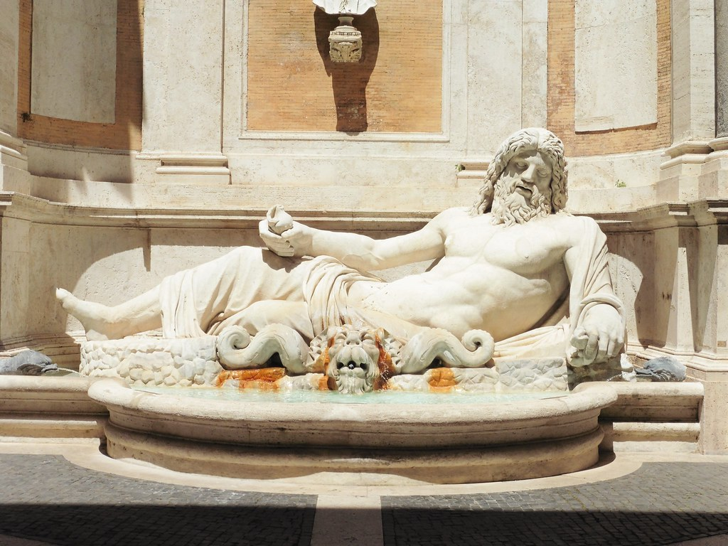 Museo Capitolini Fountain