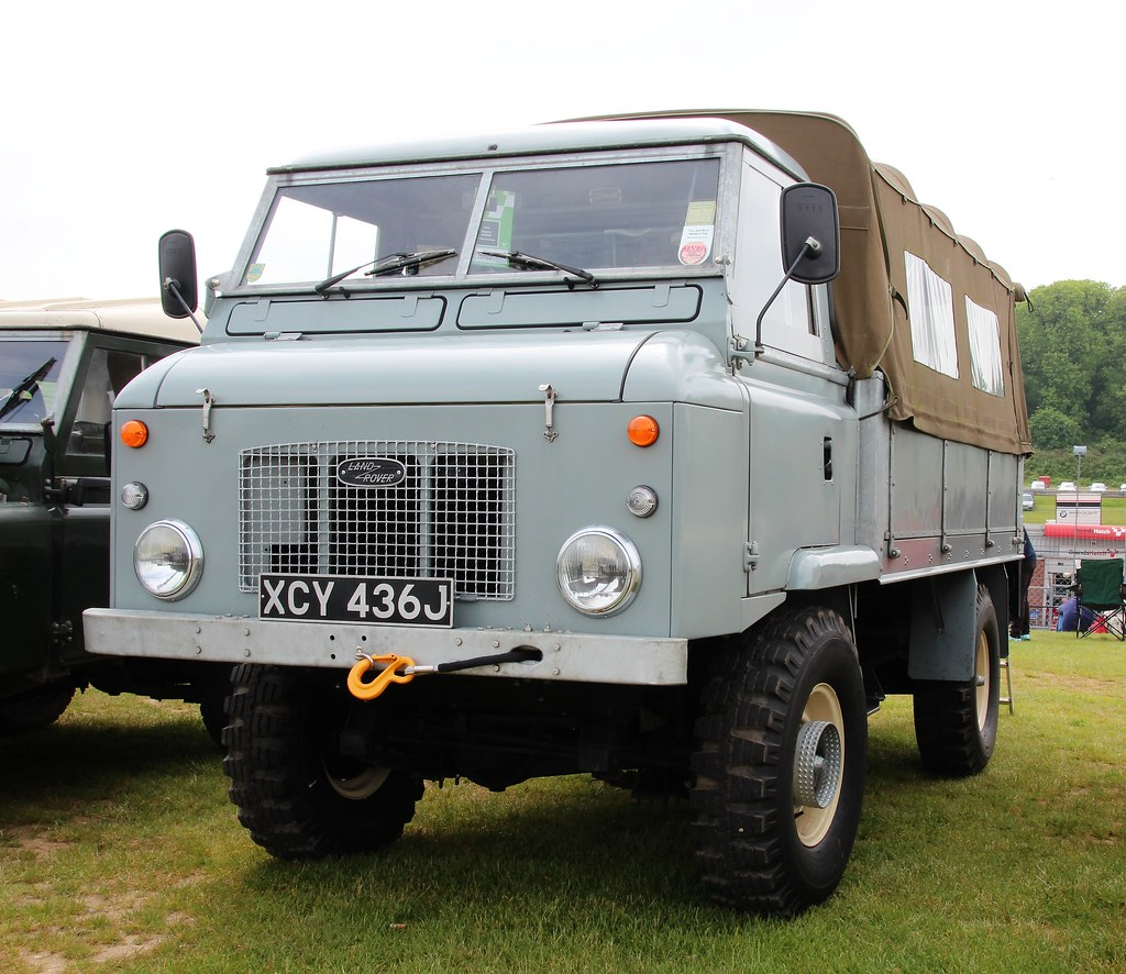 2016 Land Rover >> XCY 436J | 1971 Land Rover Forward Control Series 2b dropsid… | Flickr