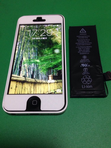 138_iPhone5Cのバッテリー交換 | by Smapho_Repair_House