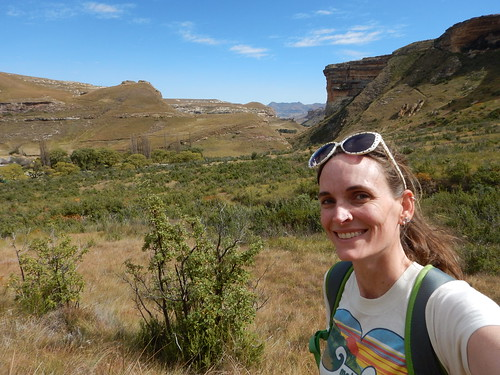 Blue Skies on the Trail in Golden Gate Highlands