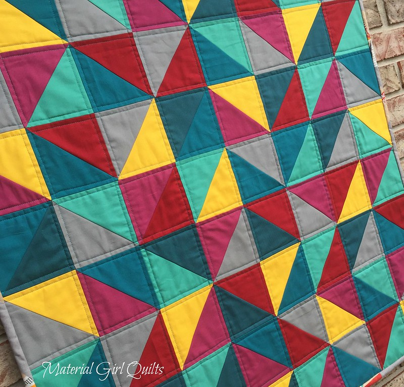 Kaleidoscope of Color quilting
