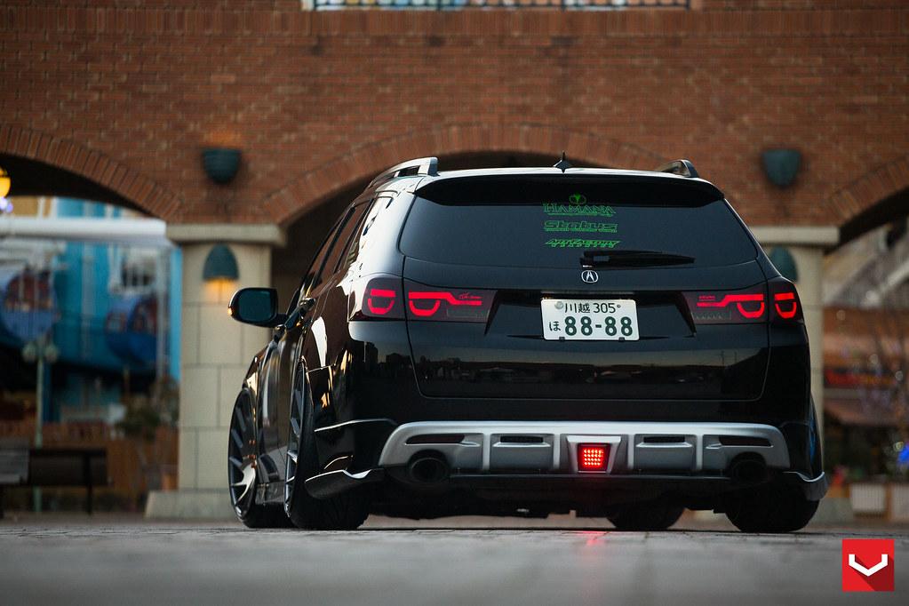Honda Acura Tsx Wagon 20 Inch Vossen Vle 1 Limited Editi
