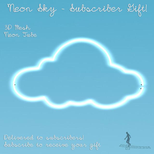 Neon Sky Subscriber Gift