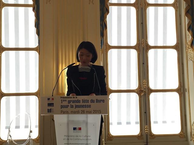 Fleur Pellerin Lire en short littérature jeunesse