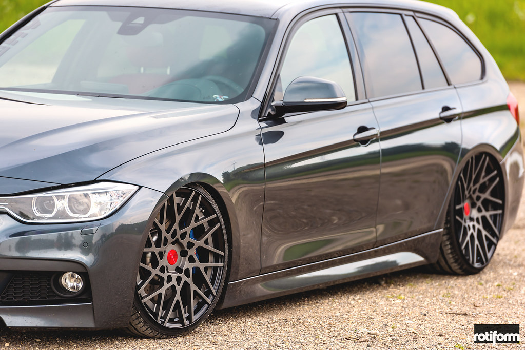 Bmw F31 Wagon Rotiform Blqt Photos By Low And Modded