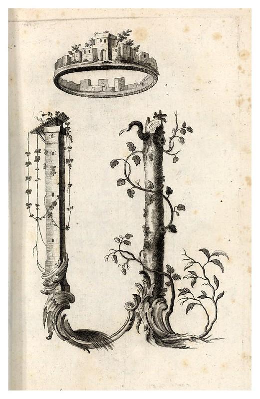 009-Letra U-Alphabet orné 1760 -BNF-Gallica