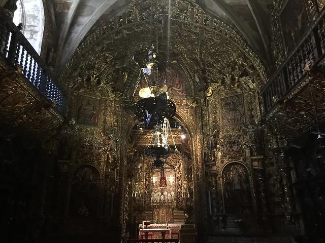 Capilla del Santo Cristo en Ourense (Galicia)