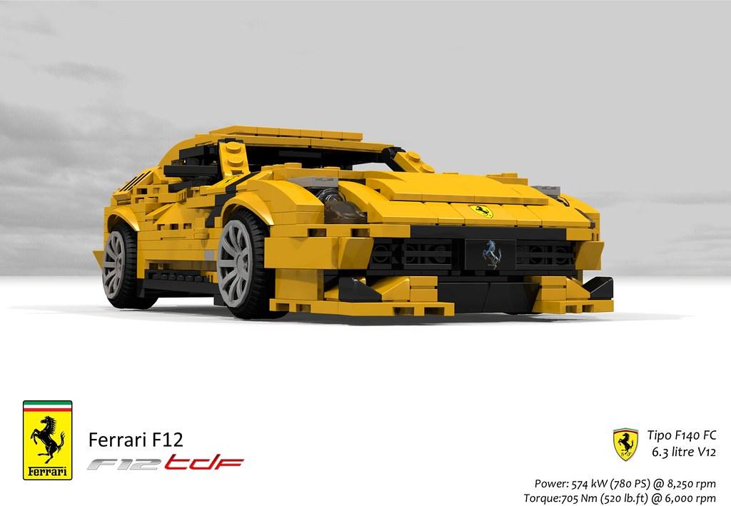 Ferrari F12 Tdf 2016 Ferrari Has Unveiled The F12tdf Whi Flickr