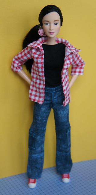 Barbie made to move. Natsumi
