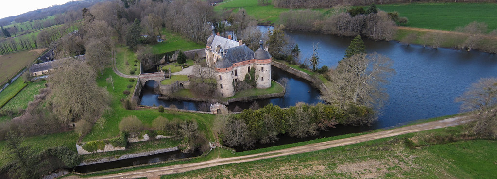 le chateau de St Germain Beaupré