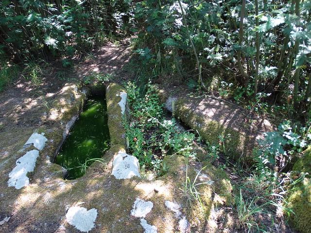 Tumbas antropomórficas de O Preguntoiro en Cibrisqueiros