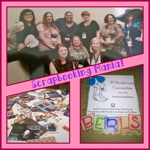 Had a blast scrapbooking! #RT15